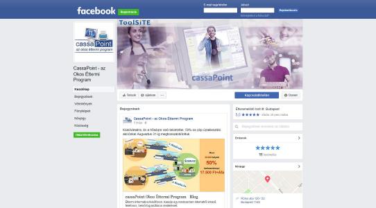 ToolSiTE Kft. a Facebook-on