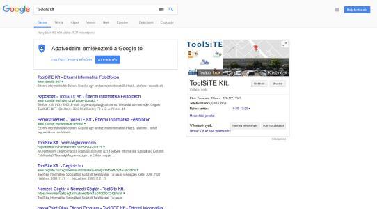 ToolSiTE Google Profil